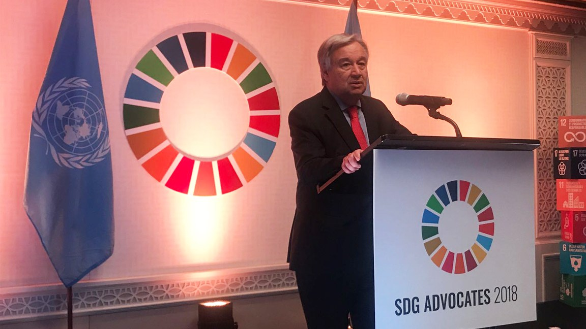 UN Announces Global Media Compact to raise awareness of the Sustainable Development Goals