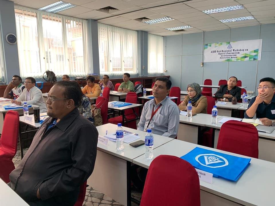 Workshop on Sports Journalism underway in KL
