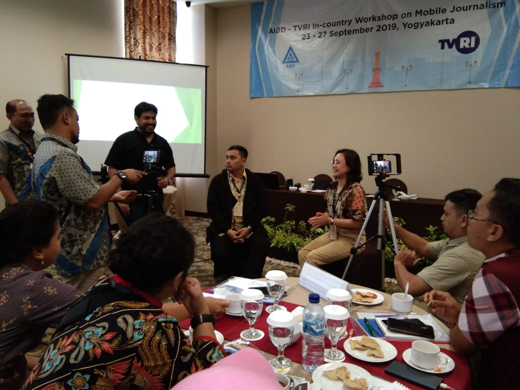 AIBD/TVRI In-country Workshop on Mobile Journalism