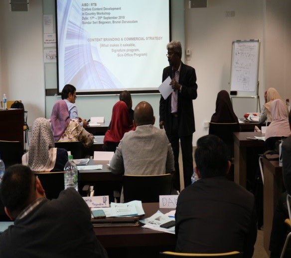AIBD/RTB/DARE In-Country Workshop on Creative Content Development