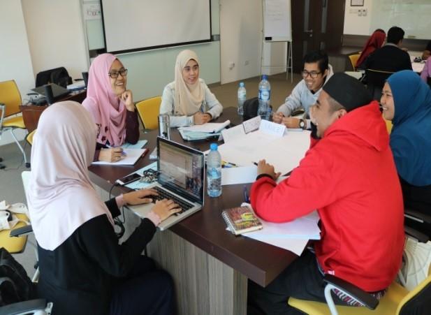 Workshop in session